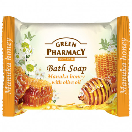 Green Pharmacy, Bar Soap, Manuka Honey And Olive Oil