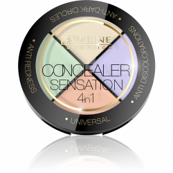 Eveline, Concealer Sensation 4in1 Professional Face Corrector