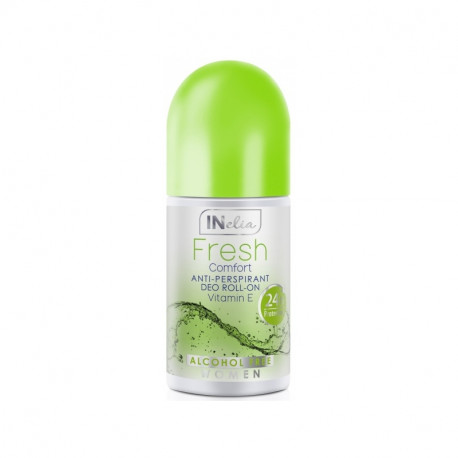 Inelia, Comfort Anti Perspirant Deo Roll-On with Vitamin E
