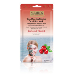 "Al Batros, Brightening Facial mud mask ""Bearberry & Vit E"""
