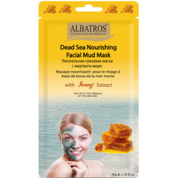 Al Batros, Nourishing Facial Mud Mask with Honey Extract""
