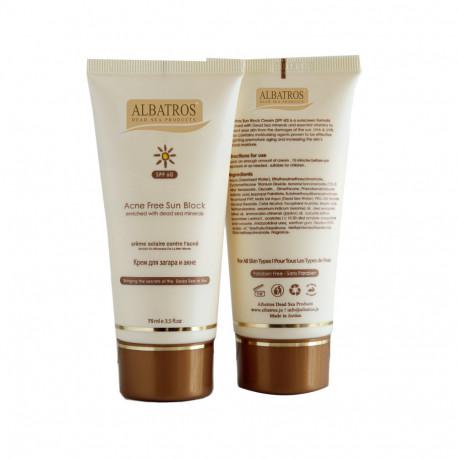 Al Batros, Sun Screen for Oily Skin SPF 50+