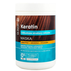 Dr. Santé Hair Mask Keratin, Arginine and Collagen for dull and brittle hair.