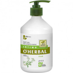 O'Herbal, Soft Gel For Intimate Hygiene, Fresh With Yarrow Extract 500 ml
