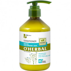 O'herbal, Conditioner, For Dry And Damaged Hair With Flax Extract, 500 ml