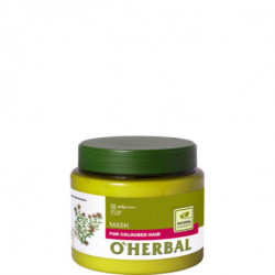O'herbal, Mask, For Coloured Hair With Thyme Extract 500 ml