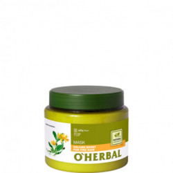 O'herbal, Volume Boost Mask For Fine Hair With Arnica Extract, 500 ml