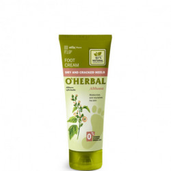 O'herbal, Foot Cream Dry And Cracked Heels, With Althaea Extract, 75 ml