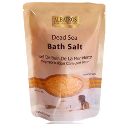 Al Batros, Bath Salt Bag, Orange, 250g
