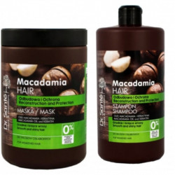 Dr. Sante Macadamia Oil & Keratin Shampoo And Mask 1000ml.