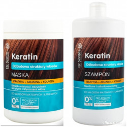 Dr. Sante Keratin, Arginine And Collagen Shampoo And Mask 1000ml