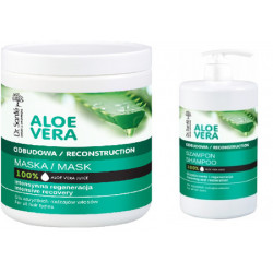 Dr. Sante, Aloe Vera Reconstruction  Shampoo And Mask, 1000ml