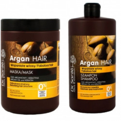 Dr. Sante Argan Oil & Keratin Shampoo And Mask 1000ml
