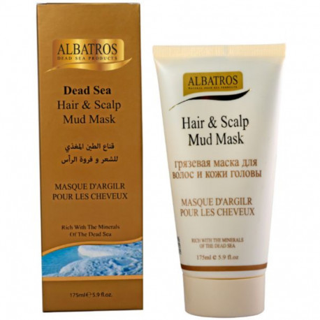 Al Batros, Hair & Scalp Mud Mask, 175ml
