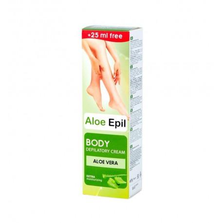 Aloe Epil, Body Depilatory Cream, 125 ml