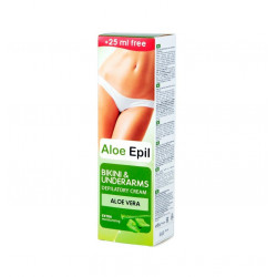 Aloe Epil, Depilatory Cream For Bikini & Underarms, 125 ml