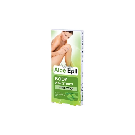 Aloe Epil, Wax Patches For Body Depilation, 16 Pcs
