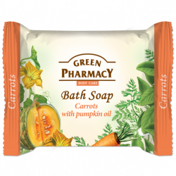 Green Pharmacy, Bar Soap, Carrot And Pumpkin Seed Oil
