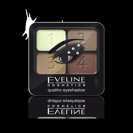 EVELINE EYESHADOW QUATRO set1
