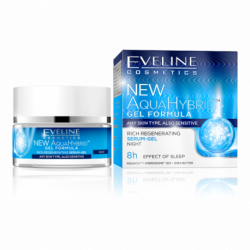 EVELINE NEW AQUA HYBRID - RICH REGENERATING serum-gel - night
