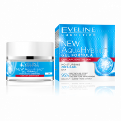 EVELINE NEW AQUA HYBRID - MOISTURISING cream-gel - day