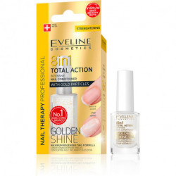 EVELINE NAIL THERAPY 8 IN 1 WITH GOLD PARTICLES