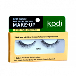 KODI STRIP FALSE EYELASHES NO. 1001