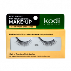 KODI STRIP FALSE EYELASHES NO. 1006