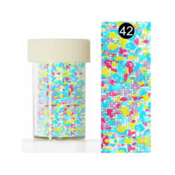 KODI NAIL ART FOIL IN A JAR-42