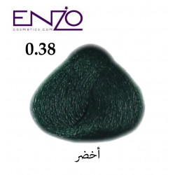 ENZO HAIR COLOR 0.38 أخضر