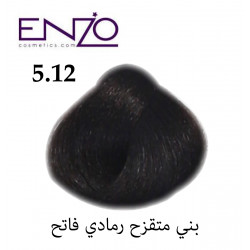 ENZO HAIR COLOR 5.12