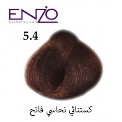 ENZO HAIR COLOR 5.4