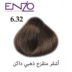ENZO HAIR COLOR 6.32