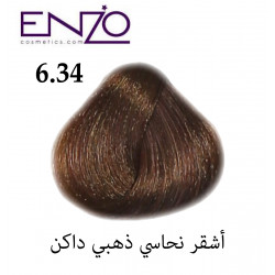 ENZO HAIR COLOR 6.34