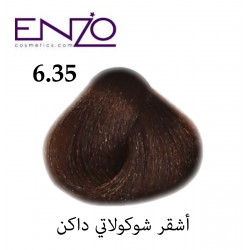 ENZO HAIR COLOR 6.35