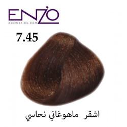 ENZO HAIR COLOR 7.45