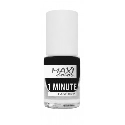 Maxi Color - 1 Minute Fast Dry Nail Polish - №04 - 6ml