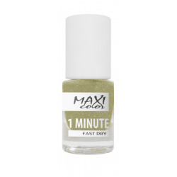 Maxi Color - 1 Minute Fast Dry Nail Polish - №06 - 6ml