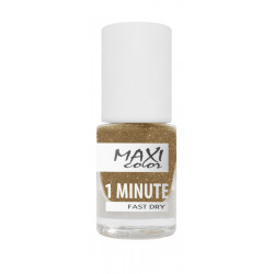 Maxi Color - 1 Minute Fast Dry Nail Polish - №05 - 6ml