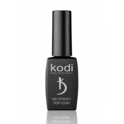 KODI NO STICKY TOP COAT, 12ML (TOP COVER FOR GEL POLISH WITHOUT DISPERSION SLOE)