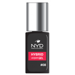 NYD HYBRID LAQUER GEL (NO LAMP NEEDED) - 08
