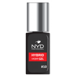 NYD HYBRID LAQUER GEL (NO LAMP NEEDED) - 10