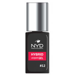 NYD HYBRID LAQUER GEL (NO LAMP NEEDED) - 12