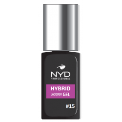 NYD HYBRID LAQUER GEL (NO LAMP NEEDED) - 15