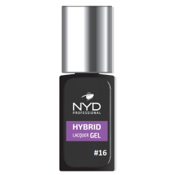 NYD HYBRID LAQUER GEL (NO LAMP NEEDED) - 16