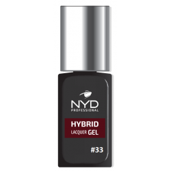 NYD HYBRID LAQUER GEL (NO LAMP NEEDED) - 33