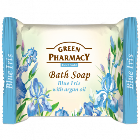 Green Pharmacy, Bar Soap, Blue Iris And Argan Oil
