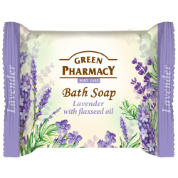 Green Pharmacy, Bar Soap, Lavender And Flaxseed Oil