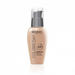 Revers, Mineral Make Up Foundation, Colors Day 24h