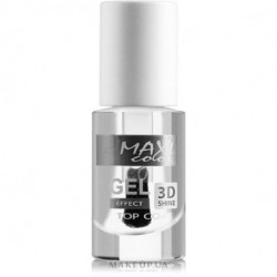 Maxi Color, Nail Polish, Gel Effect New Palette Top Coat